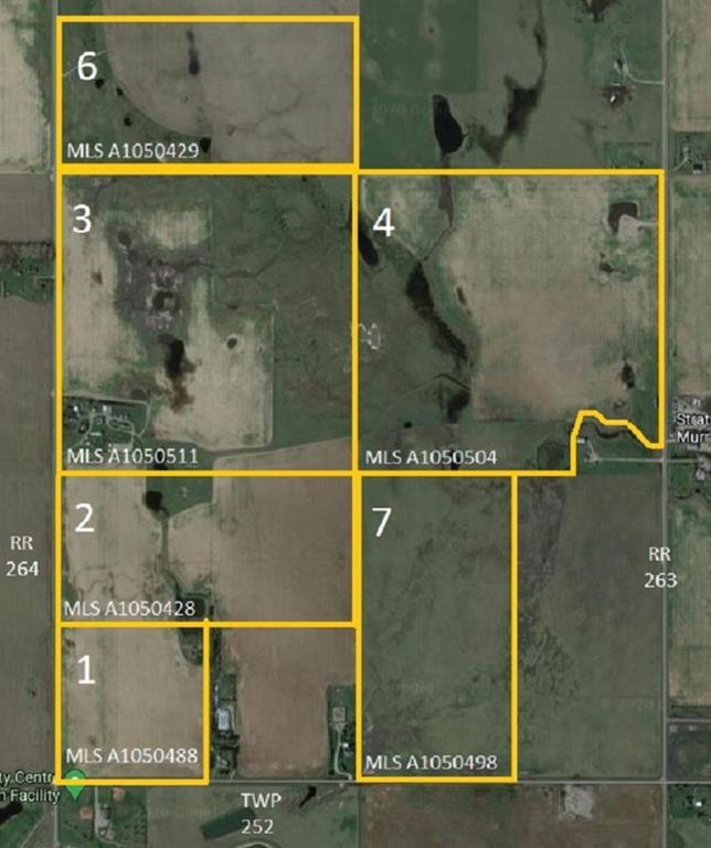 Picture of W4R26T25S16QNE Range Road 264 Range, Rural Wheatland County Real Estate Listing